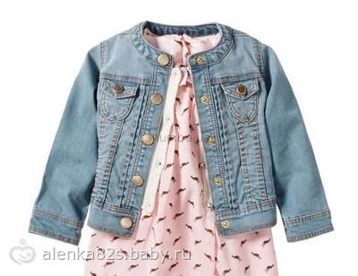 Сшить джинсовую куртку своими руками для девочек