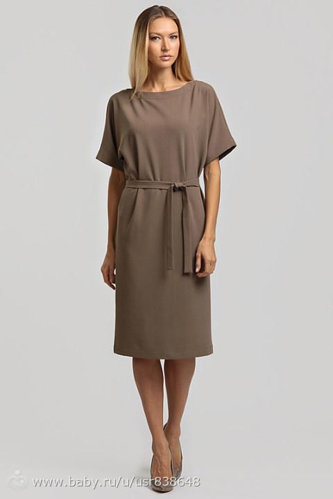 Платье цельнокроеный рукав