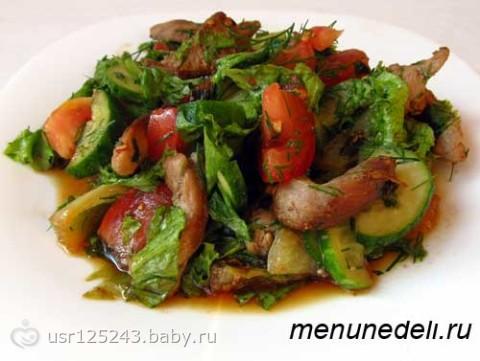 Салаты с соевым соусом рецепты с фото