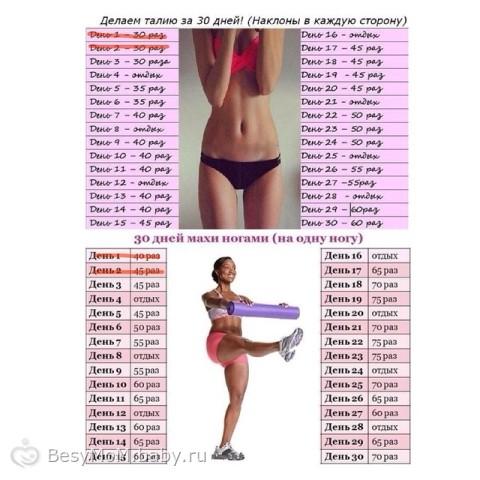 Как похудеть в домашних условиях за 3