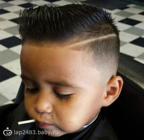 Модная причёска для школы