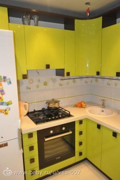 Кухня 5 метров дизайн фото
