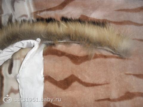 Как сделать помпон из полосок меха