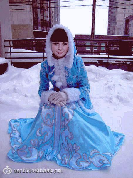 самое красивое фото снегурочки брюнетки