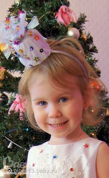 Новогодняя шапочка своими руками для девочки