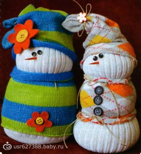 Ведро для снеговика своими руками фото