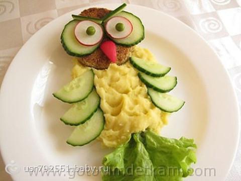 Детская еда что приготовить