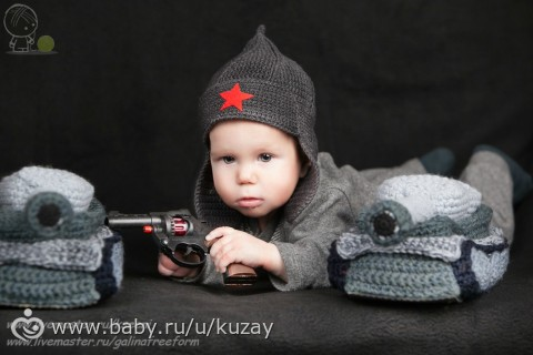 Идея шапочки малышу))