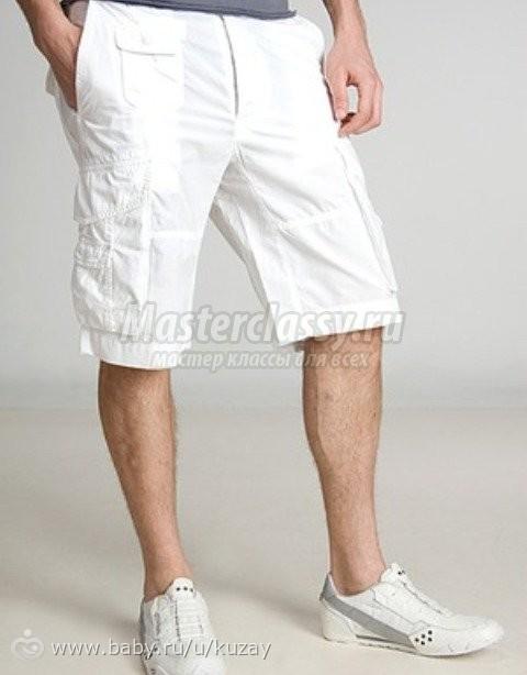 Данная модель женских шорт очень легко шьется, так как выкройка шорт не имеет карманов или других декоративных