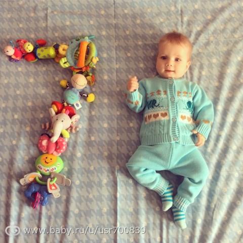 Фото малышей по месяцам идеи
