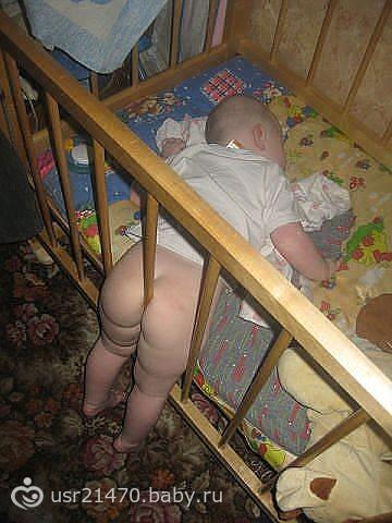 Тетя голая спит