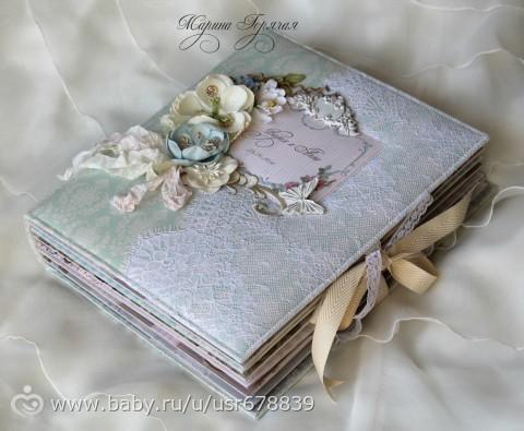 Альбомы для свадебных фото своими руками