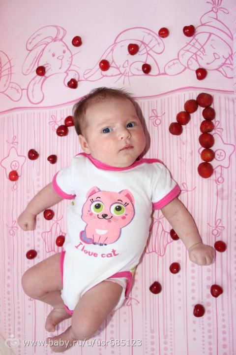 Поздравление родителям с 1 месяцем девочке в прозе