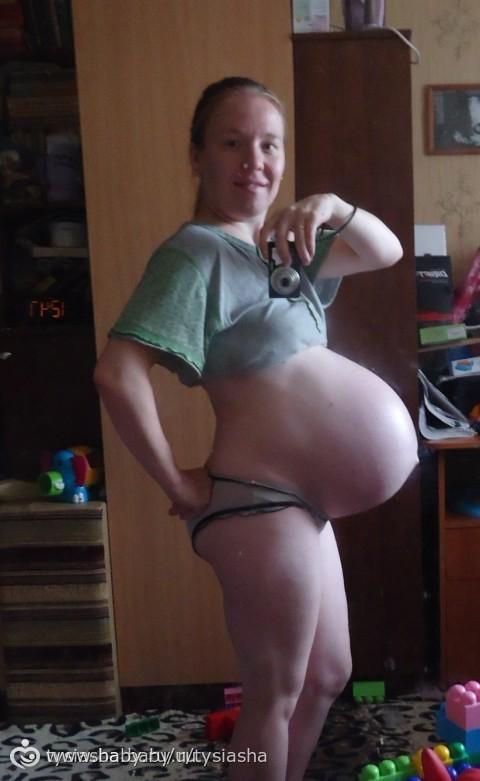 Самые большие животы при беременности