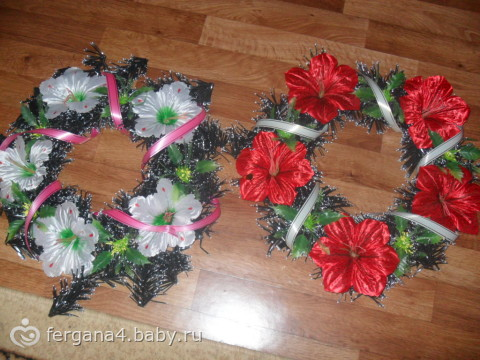 Фото ритуальные цветы