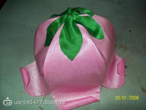 головной убор тюльпан своими руками