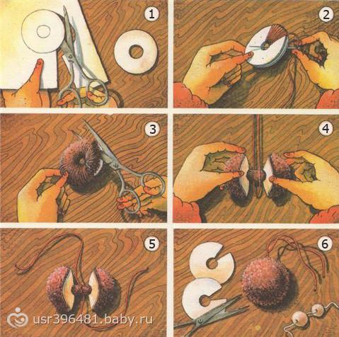 Бубоны из ткани