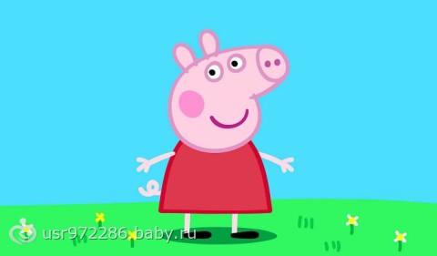 Сшила дочке свинку Пеппу ))))