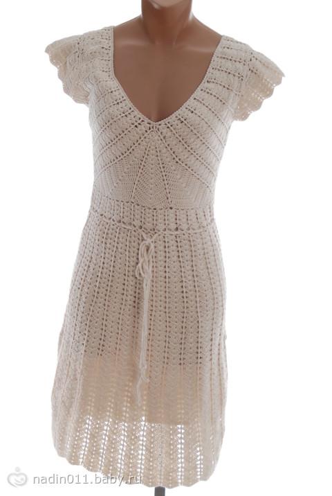 2 авг 2012 ажурное платье крючком Вязаные сарафаны для девочек с описанием Платье