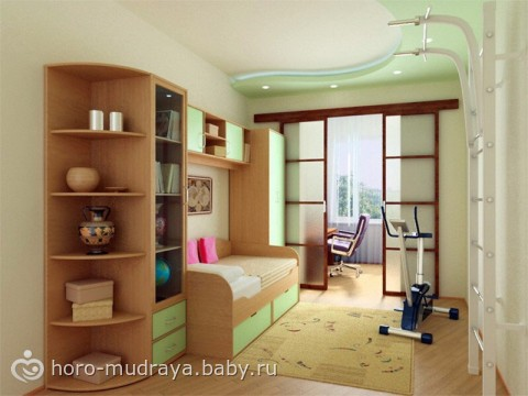 Дизайн детской комнаты 6 кв.м для мальчика