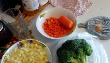 Сырный суп)))