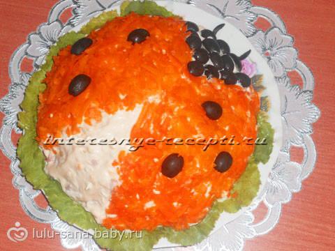 Салат на день рождения ребенка рецепты несложные