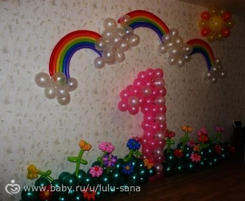 Украсить комнату на 2 года ребенку своими руками