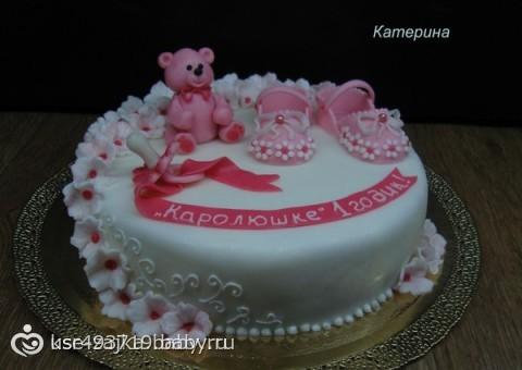 Тортик на год своими руками