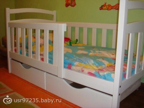Кровать ребенку 2 лет