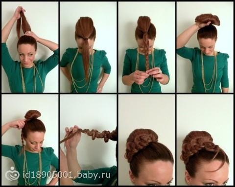 Собираем волосы своими руками