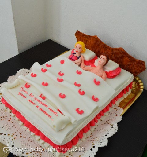 Торт-кровать мастер класс