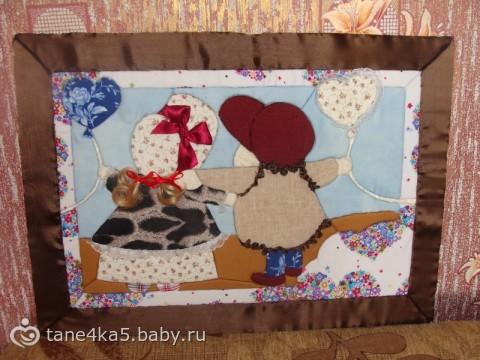 Картины из ткани шаблоны
