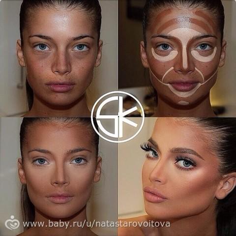 Как сделать макияж скулы в домашних условиях