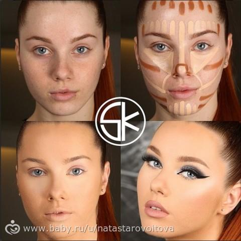 Как сделать в домашних условиях профессиональный макияж