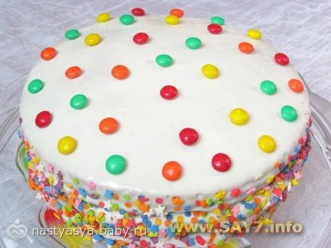 детские праздничные рецепты из с фото торты