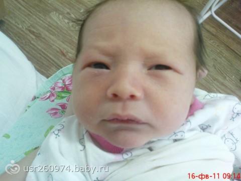 на орала на малыша: