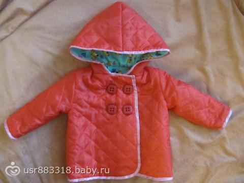 Сшить куртку для ребёнка 81