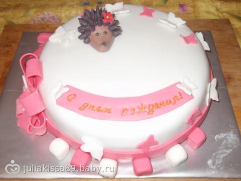 Торт девочке на 1 годик для всех