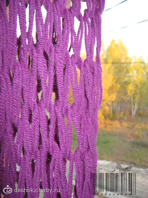 Снуд (или шарф восьмерка)