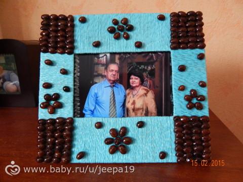 Подарок на годовщину свадьбы бабушке и дедушке своими руками на 86