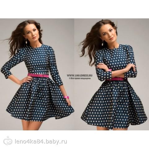 Платье в горошек)))) - на бэби.ру