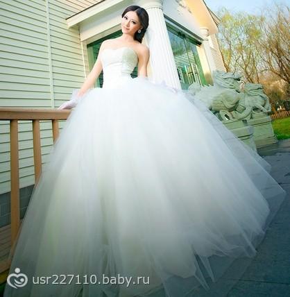 Фото платьев на свадьбу пышные