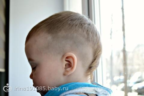 Стрижка на 1 годик для мальчиков