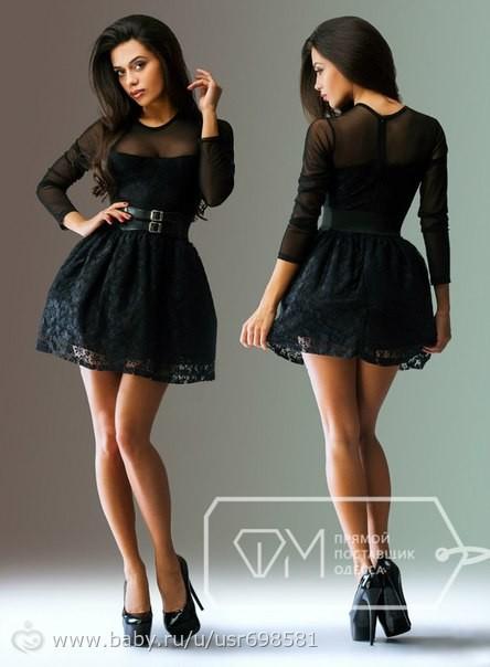 Фото короткое платья с сеткой