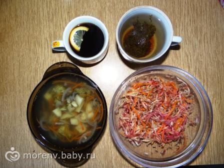 Диета 6 лепестков: овощной день рецепты - Racionika