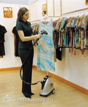 Парогенератор для чистки одежды
