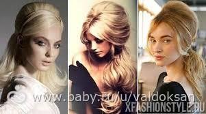 Причёски в стиле ретрона длинные волосы