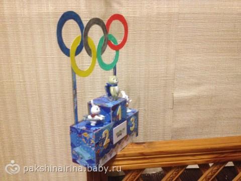На тему олимпиада поделки