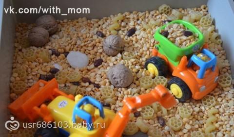 Сенсорная коробка для ребенка своими руками 69