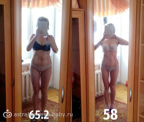как я похудела на правильном питании